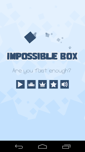 The impossible Box Dash