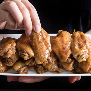 Instant Pot Honey Garlic Chicken Wings.