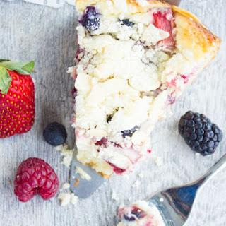 Cheesecake Streusel Raspberry Cake