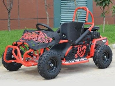 80cc 4 Stroke Kids Fun Racing Gocart Buggy Single Seater