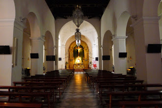 Photo: Nerja's central Parish church of San Salvador