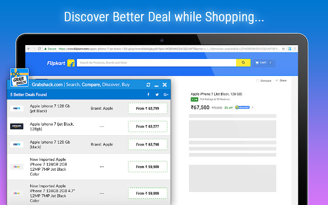 GrabShack | Search, Compare, Discover, Save