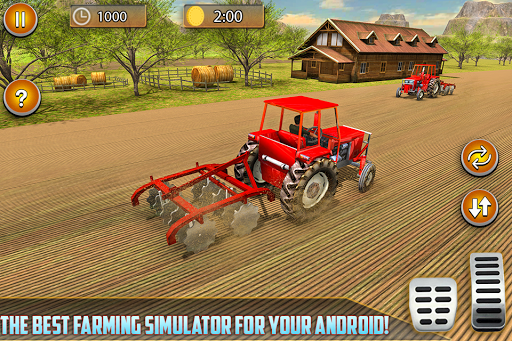 American Real Tractor Organic Farming Simulator 3D apktram screenshots 8