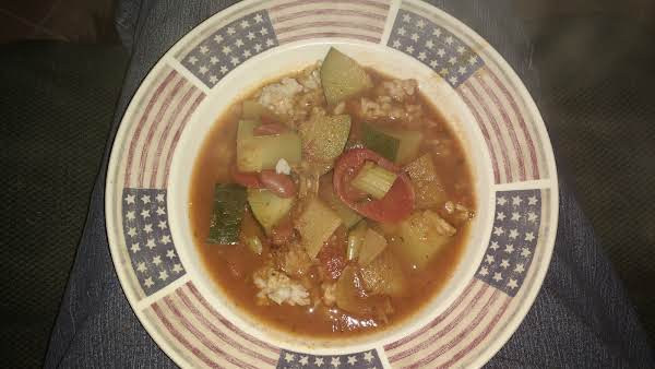 Quick Chili Vegetable Soup Recipe