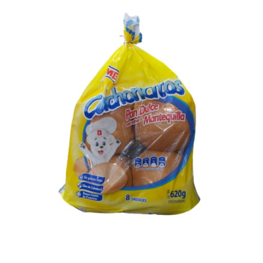 pan bimbo dulce mantequilla 620gr