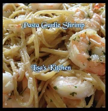 Lisa's Pasta Garlic Shrimp