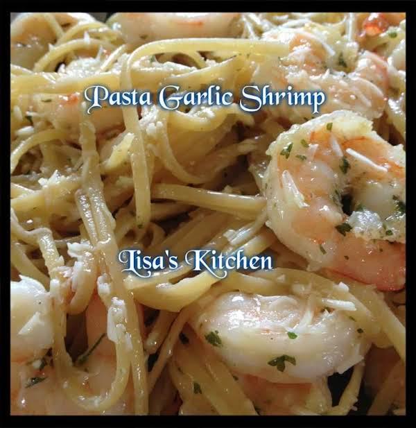 Lisa's Pasta Garlic Shrimp Recipe