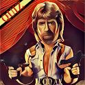 Chuck Norris Non stop Puzzle icon