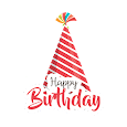 Birthday Stickers - WAStickerApps icon