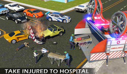 Heli Ambulance Rescue Team 3D Helicopter Simulator  screenshots 14