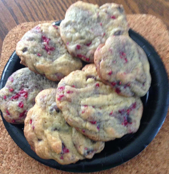 Raspberry Chocolate Chip Cookies Recipe