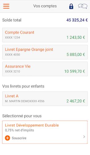 ING Android App Screenshot