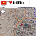 Ho Chi Minh City map icon