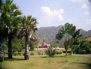 Photo: New chedi at Wat Pah Sunan, Kanchanaburi