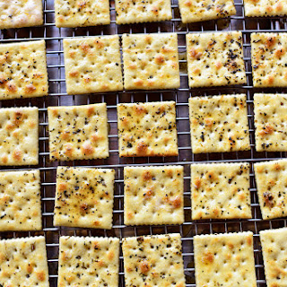 Seasoned Buttery Crackers.