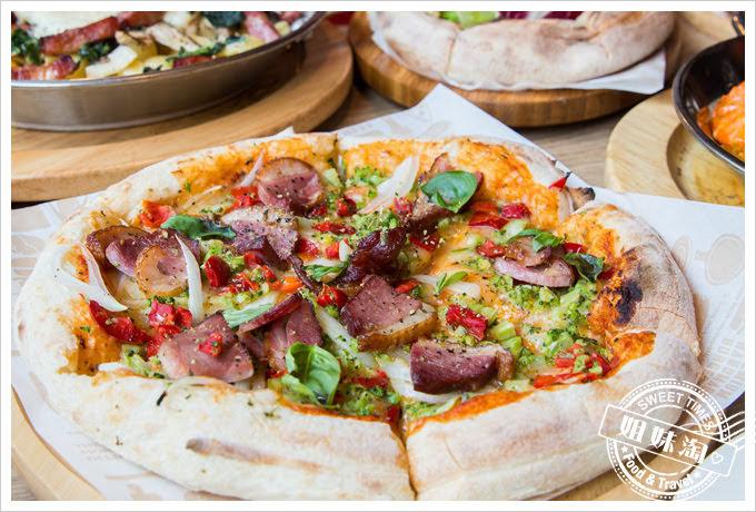 堤諾披薩菜單番茄烤鴨披薩