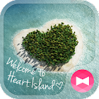 Wallpaper Tema Heart Island icon