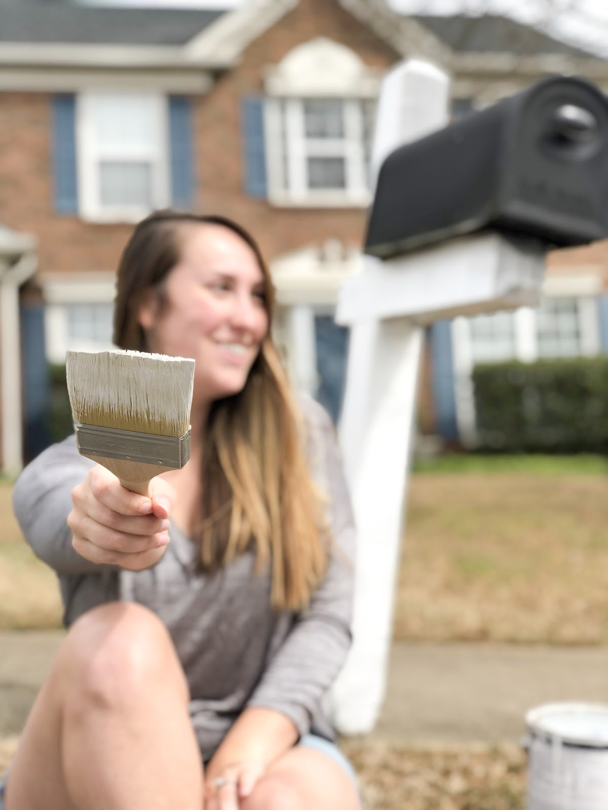 Atlanta-based blogger, Alex, from The Berger Bungalow shares 5 ways to boost curb appeal this spring.