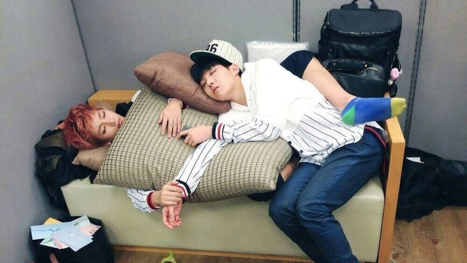 sleeping bts