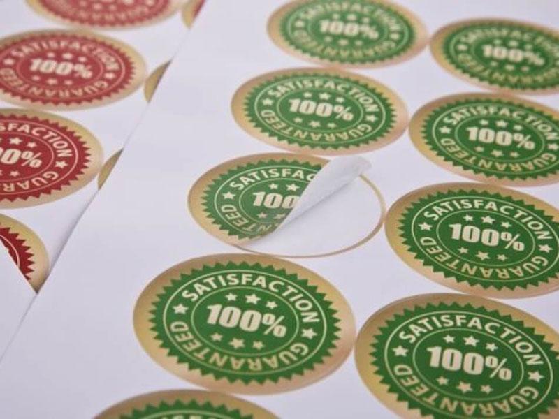 Decal in tem – Dịch vụ in ấn phổ biến trong truyền thông doanh nghiệp