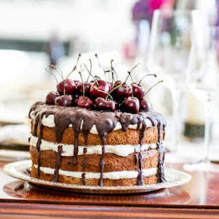 Black Forest Gateau with Cherries