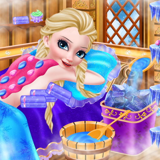 Icy Queen Spa Makeup Party (game)