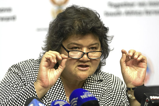 Clarity needed: Public Enterprises Minister Lynne Brown has been asked to explain why she did not release the Dentons report on Eskom. Prof Anton Eberhard made the call on the first day of an inquiry into the alleged capture of state-owned firms. Picture: TREVOR SAMSON
