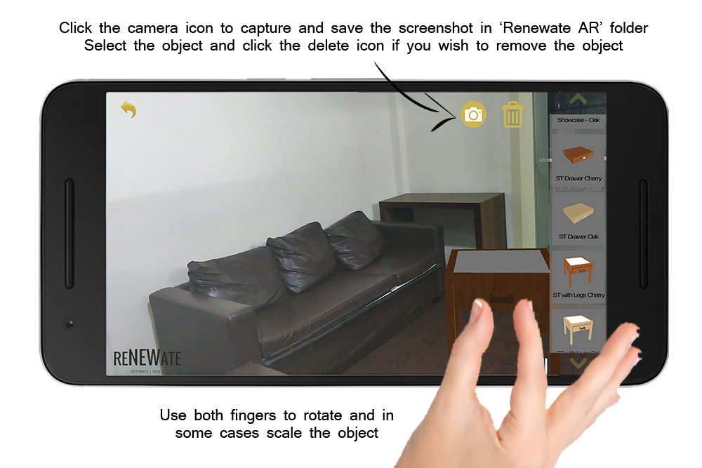 Renewate AR - Easy Renovation- screenshot