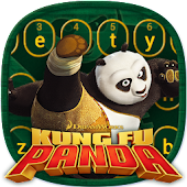 Kung Fu Panda Mountain Keyboard Theme