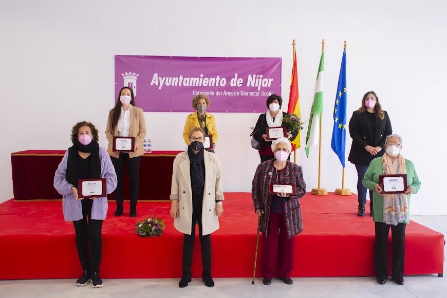 Níjar premia a seis mujeres del municipio por su importante papel a favor de la igualdad.