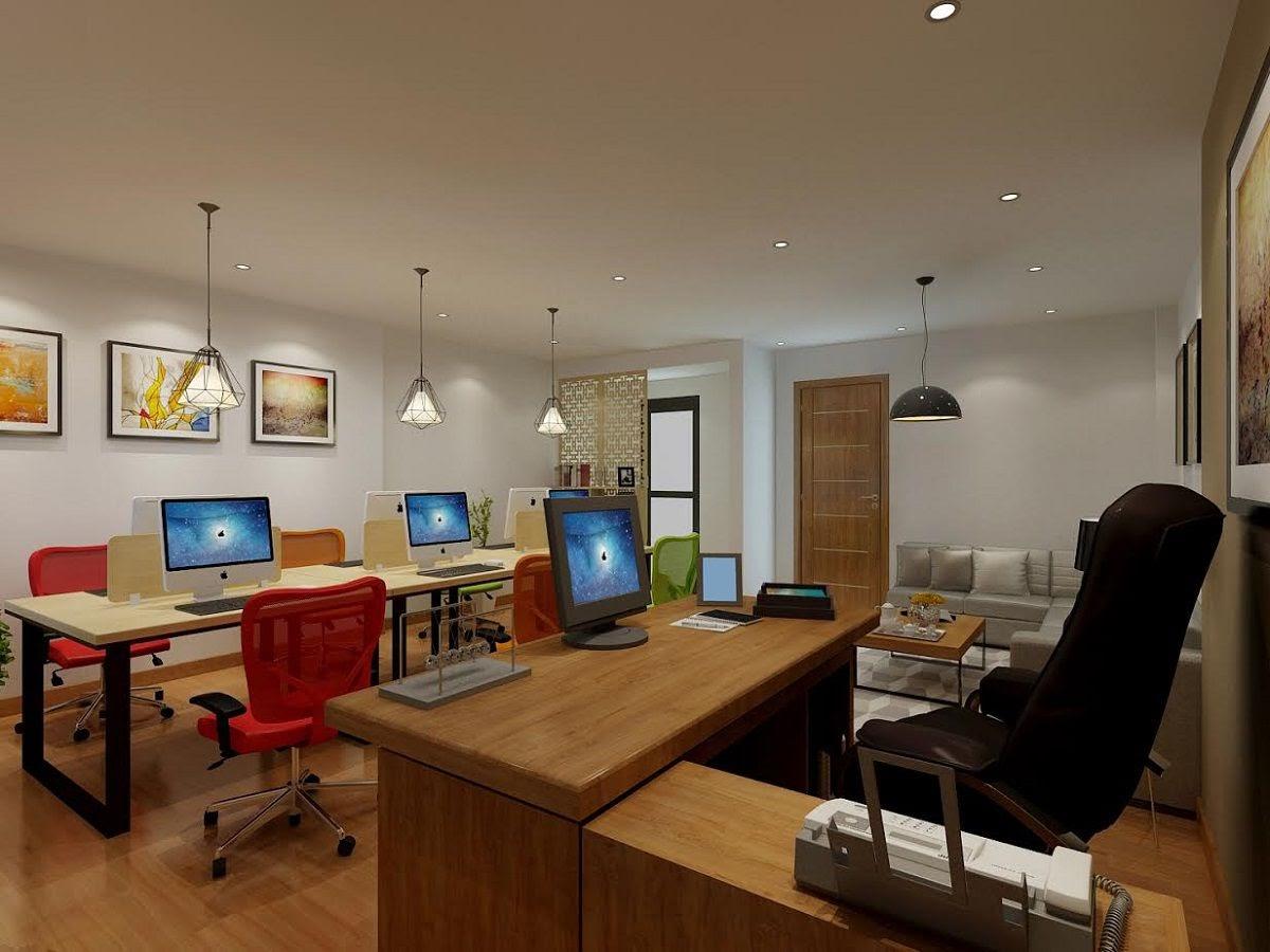 thiết kế văn phòng công ty 35m2