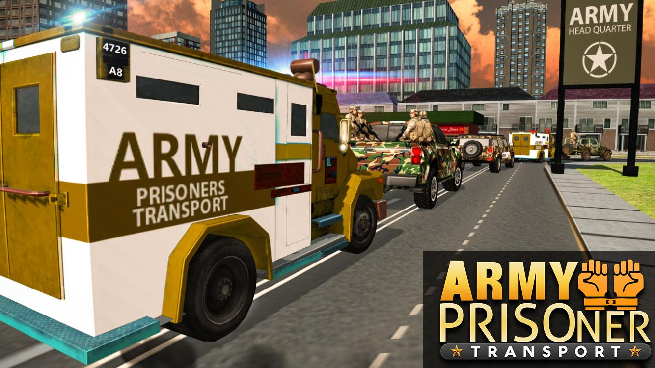 US Army Criminals Transport D Android Apps On Google Play - 3d map of prisons in us