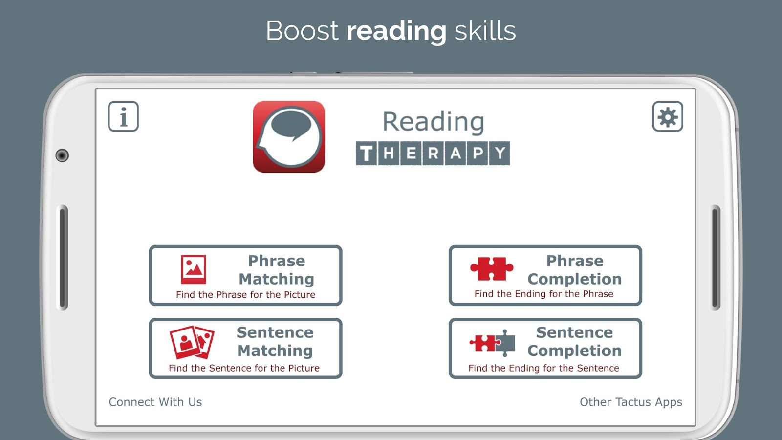 Reading Therapy- screenshot