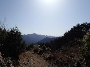 白屋岳方面
