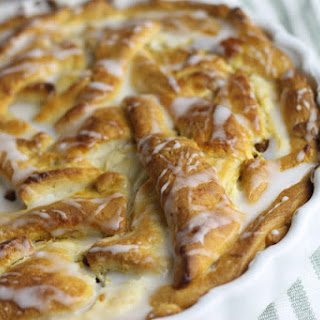 EASY Pumpkin Crescent Roll Breakfast Danish
