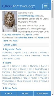 Greek Mythology Pro- screenshot thumbnail