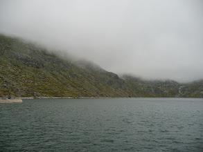 Photo: Vistas de la Laguna con las nubes ya cayendo