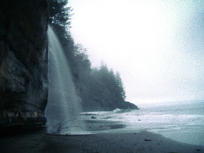 Photo: Where water falls