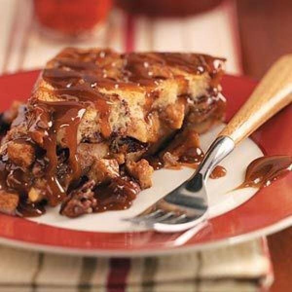 Caramel Apple Strata Recipe
