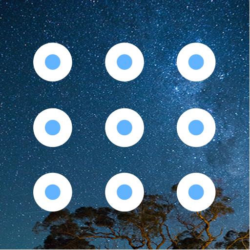 Secure Pattern Lock Screen