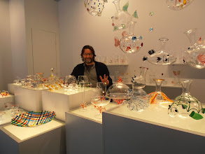 "Photo: Massimo Lunardon Glass, Italy. Me: ""May I take a photo?"" Him: ""No. You must take 20 photos."" www.massimolunardon.it #ambiente14"