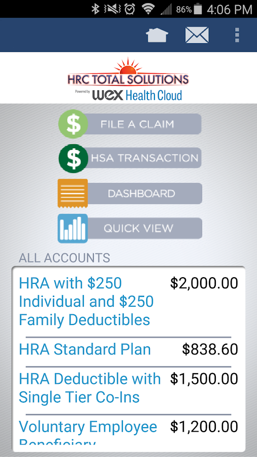 HRC Total Solutions Mobile- screenshot