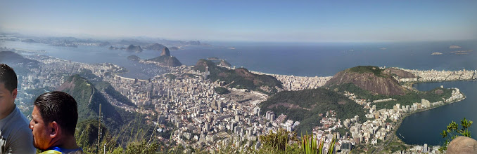 Photo: Rio from the top of the Corcovado