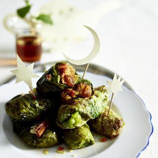 Quinoa Stuffed Cabbage Rolls.