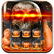 Fire Skull Launcher Theme 2018 APK