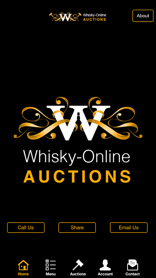 Whisky Online Auctions- screenshot