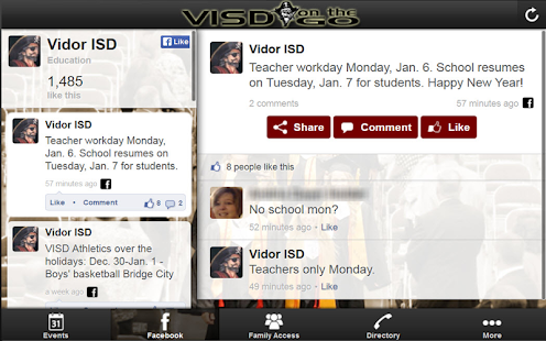 VISD on the GO- screenshot thumbnail