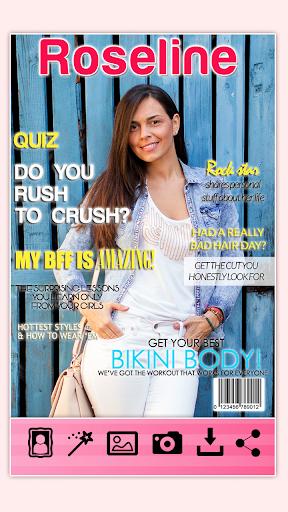 玩生活App|雜誌封面攝影蒙太奇免費|APP試玩