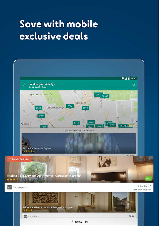 Expedia Hotels, Flights & Cars- screenshot