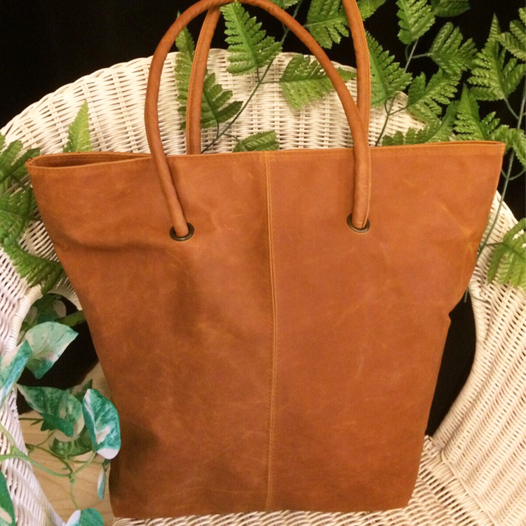 Brown Tall tote bag by Le Tea Boutique